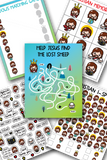 Jesus is Lord Printables Pack - Games & Stickers