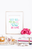 Encouraging Scripture Wall Art Quote Printables