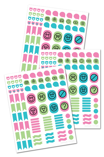 Medical Binder Stickers