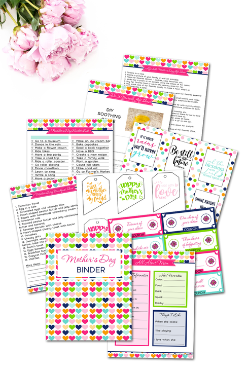 Mother's Day Binder {130+ pages}