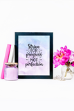 Gorgeous Purple Wall Art {25 Pages}