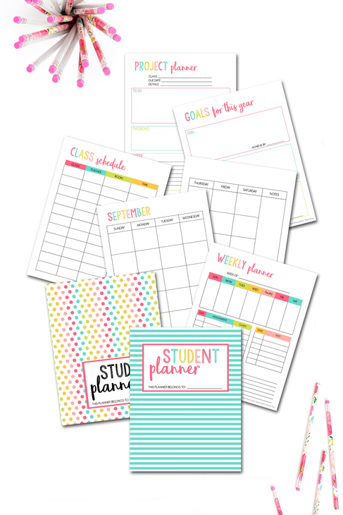 Student Planner {46 pages}