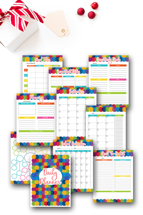 Undated Daily Planner {140+ pages}