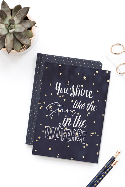 You Shine Like the Stars in the Universe Wall Art
