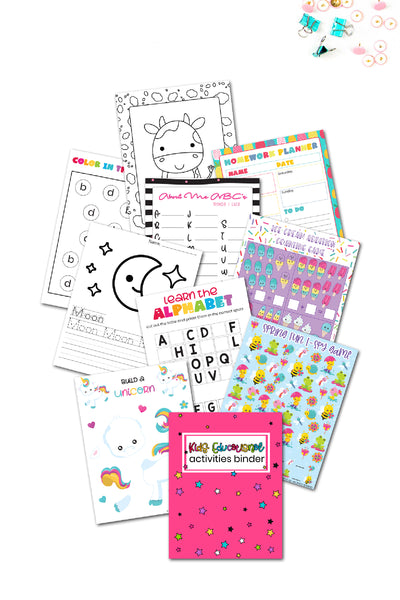 Kids Educational Activities Binder {350+ pages}