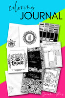 Coloring Journal {300+ pages}