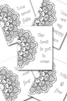 Fun Flower Coloring Sheets Pack