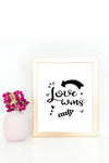 10 Love Wall Signs