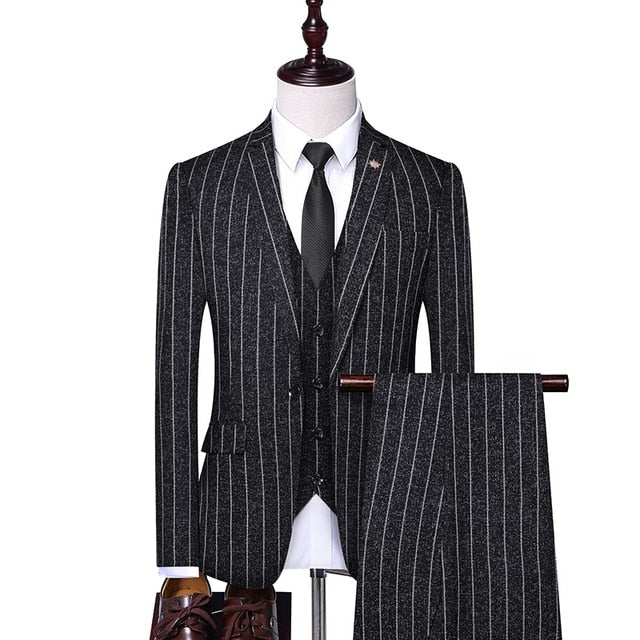 Antoine Gerard | 3 Pieces Set (Blazer+Pants+Vest)