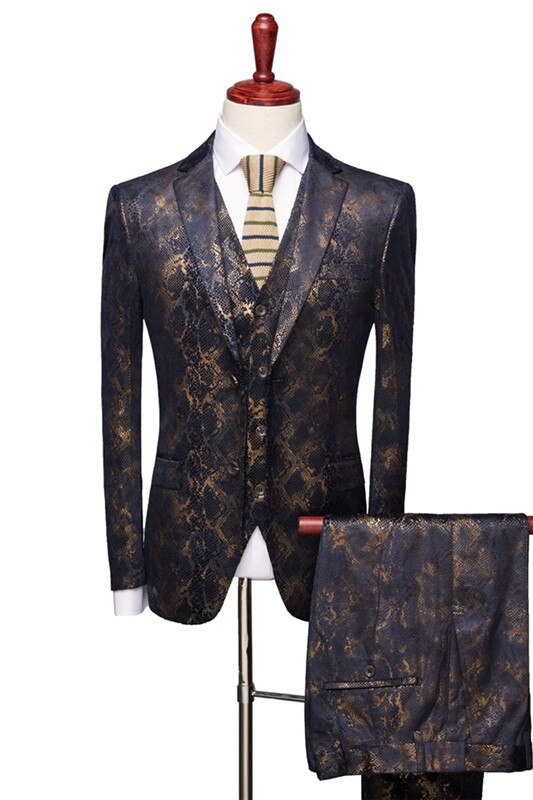 KINGSMAN 3 Pcs (Jacket+Pants+Vest) Suit