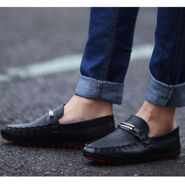 Leather Loafer Boat shoes/ Zapatos - Masstige Couture