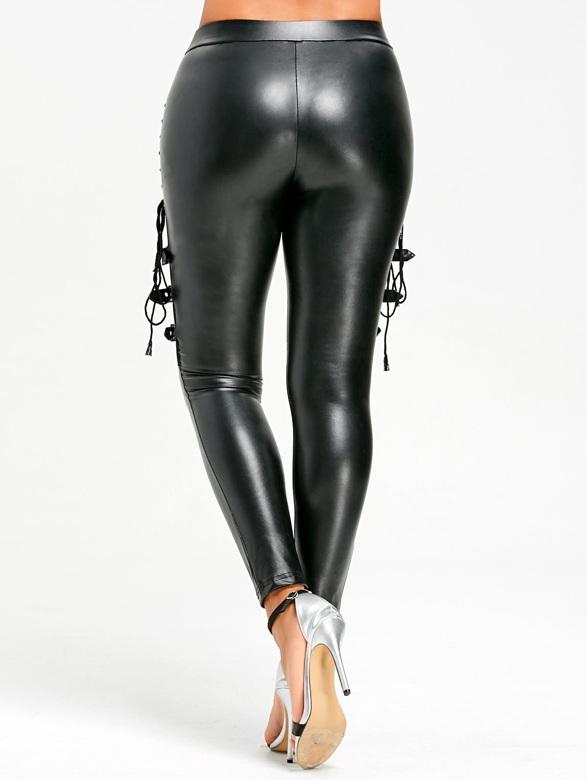 Frisk Me Leather Pants - Masstige Couture - A Luxury Fashion Boutique & Lifestyle Brand