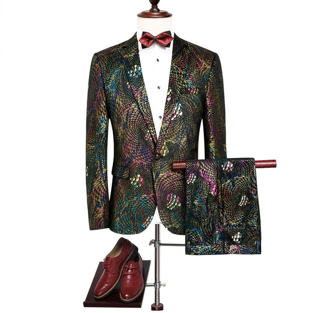 Dubai Nights - 2 Piece Formal Suit Set