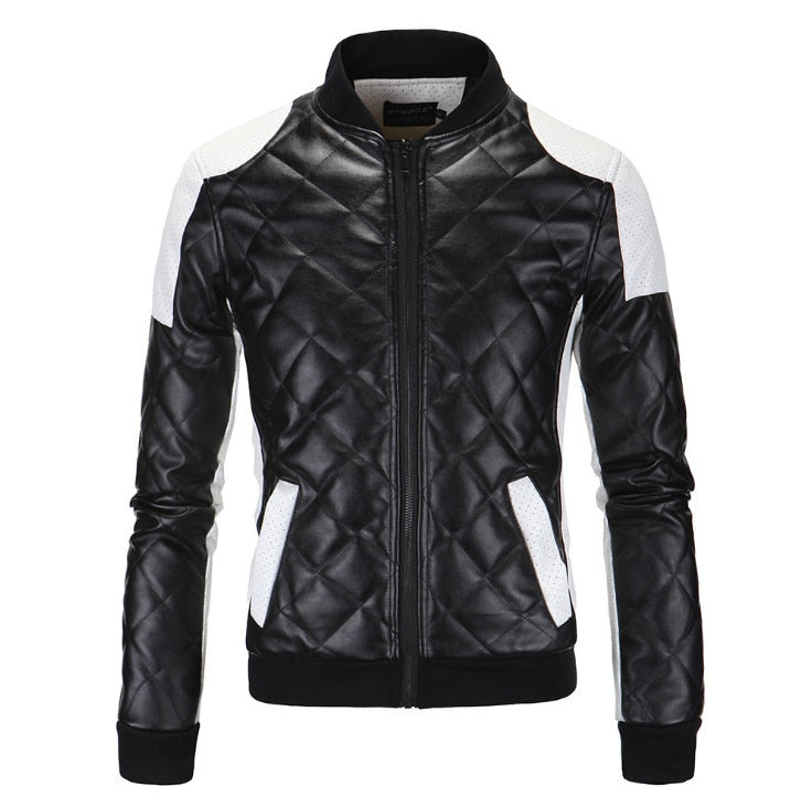FLATBUSH PU LEATHER MOTO JACKET