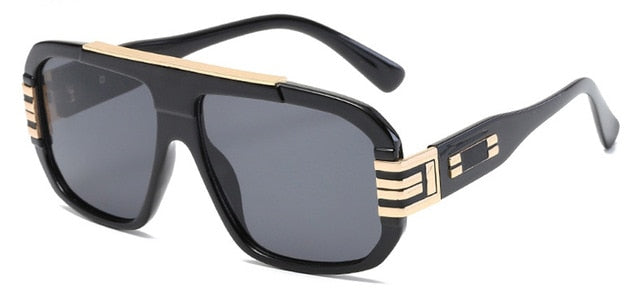 Uptown Rhythm Aviator Sunglasses