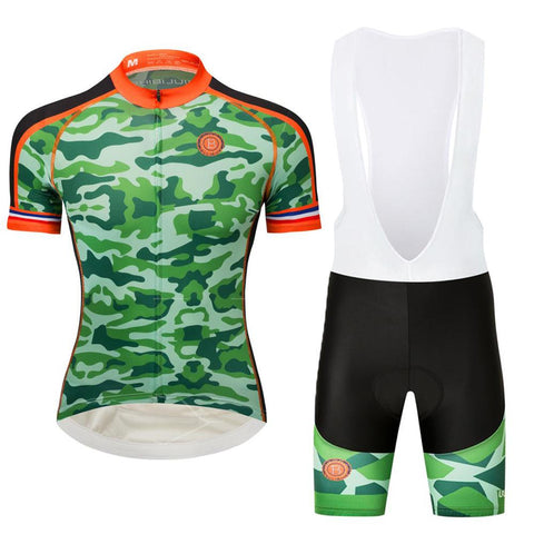 cd8885ef3c4 Team Armee De Terre Camouflage Style Cycling Jersey Kit. cycling jersey