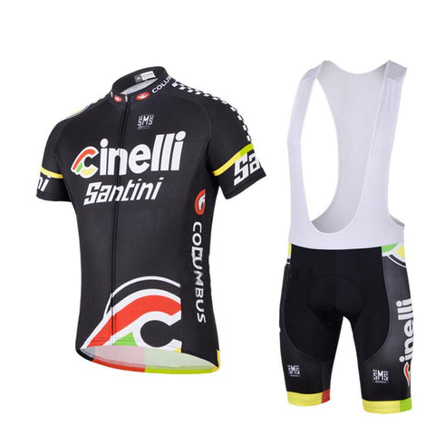 Team CINELLI Men s Cycling Clothing Jersey   Bib Shorts Kit – wulibike 557640718
