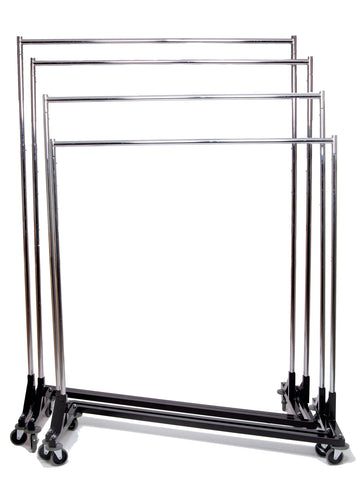 Z Rack, Up to 7-ft Tall, 4 Height Adjustments From 5-ft to 7-ft, Heavy Duty
