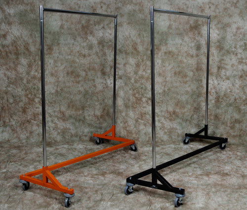 Z Rack, Heavy Duty, Height Adjustable 5' Base, 5' to 6' Uprights