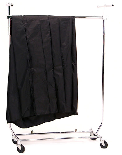 Portable Clothes Rack Combo With Cover Kit