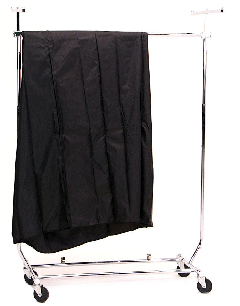 Collapsible Clothes Rack Cover Kit Nylon Cover With Supports