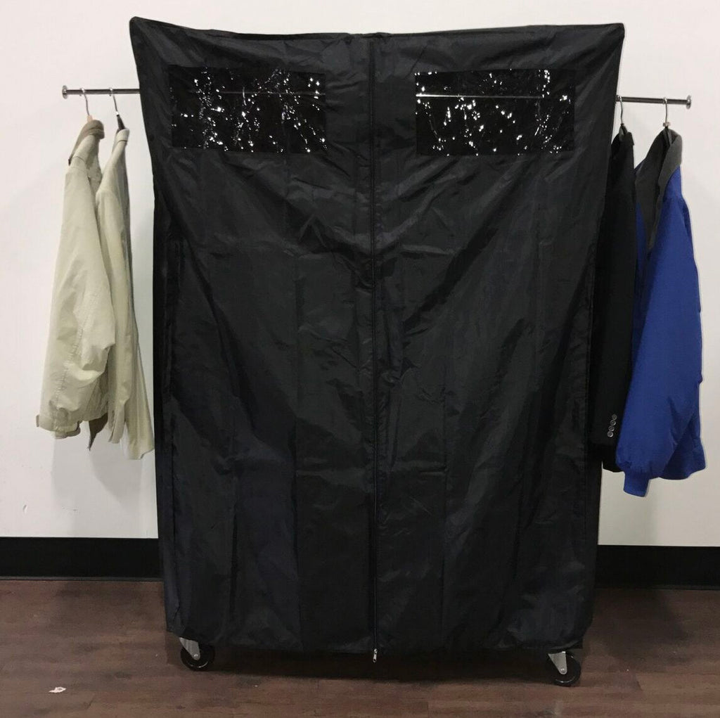 Collapsible Clothes Rack Cover Kit Nylon Cover With