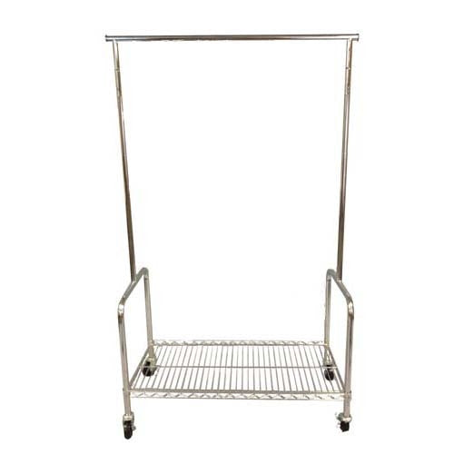 Heavy Duty Laundry Clothes Rack, 3 Adjustable Height Settings