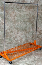 Z Rack with Bottom Shelf, 5' Base, 5' to 6' Upright