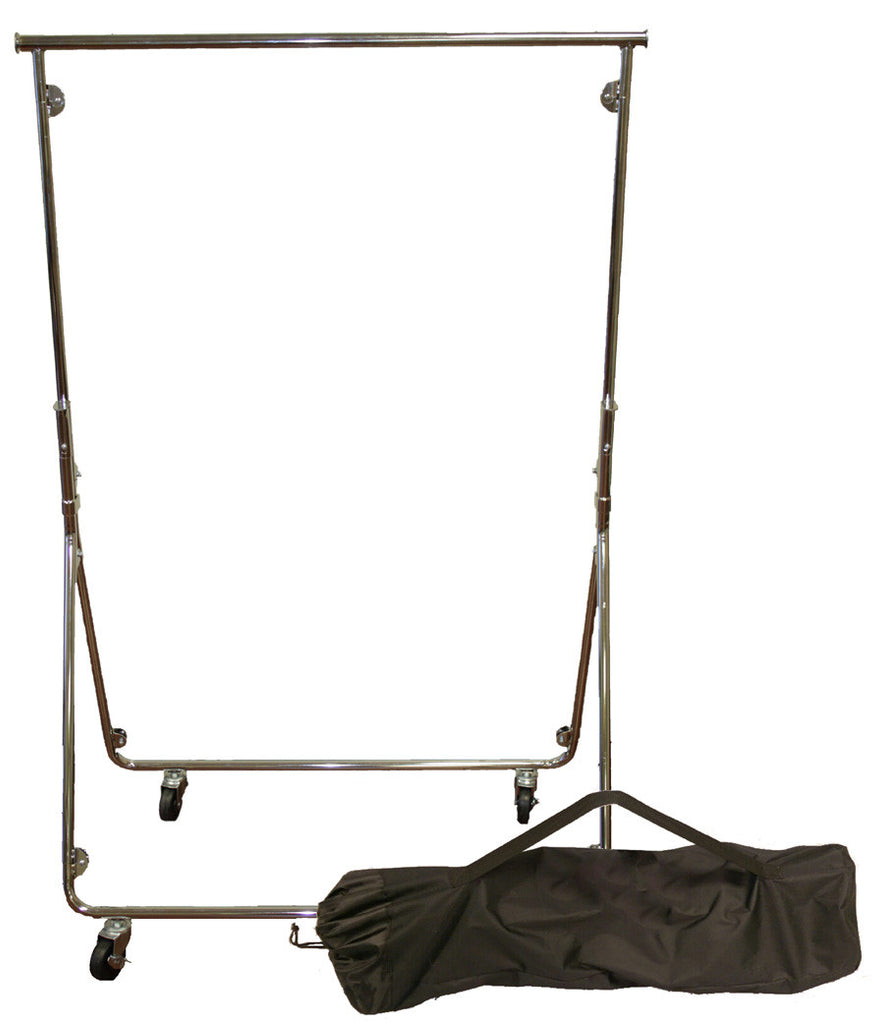 Portable Clothes Rack Quick Pop Up Design Clothing Rack