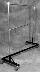 USA Double Rail Z Rack- 5' Base, 6' Uprights, 500 LB Capacity