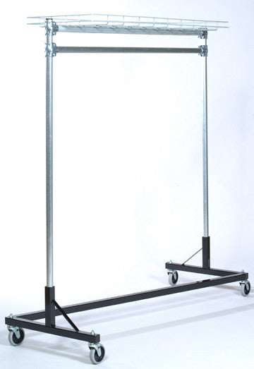 USA Z Rack, 5' Base, 6' Uprights, TopShelf
