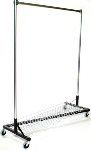 USA Z Rack, 5' Base, 5' Upright w/ Bottom Shelf