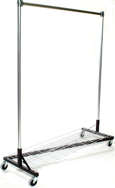 USA Z Rack, 5' Base, 7' Upright w/ Bottom Shelf