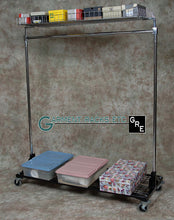 Clothes Rack With Shelves