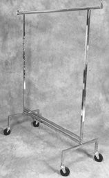 Hanging Clothes Rack, Heavy Duty, Adjustable Heights, 250 Lb Load Capacity