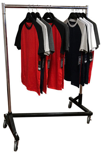 Z Rack Heavy Duty, Small Space Design, Adjustable Heights