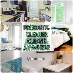 Probiotic Cleaner Cleans Anywhere!