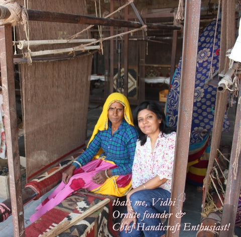 Ornate handicrafts - fabulous handwoven rugs & carpets from India