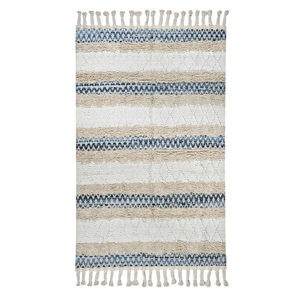 Boho Denim 4x6 Area rug