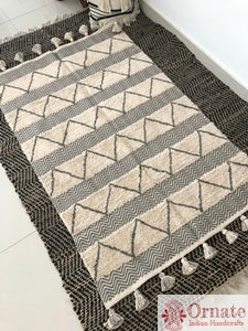 Herringbone Scandinavian Area rug