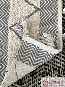 Herringbone 4x6 Area rug