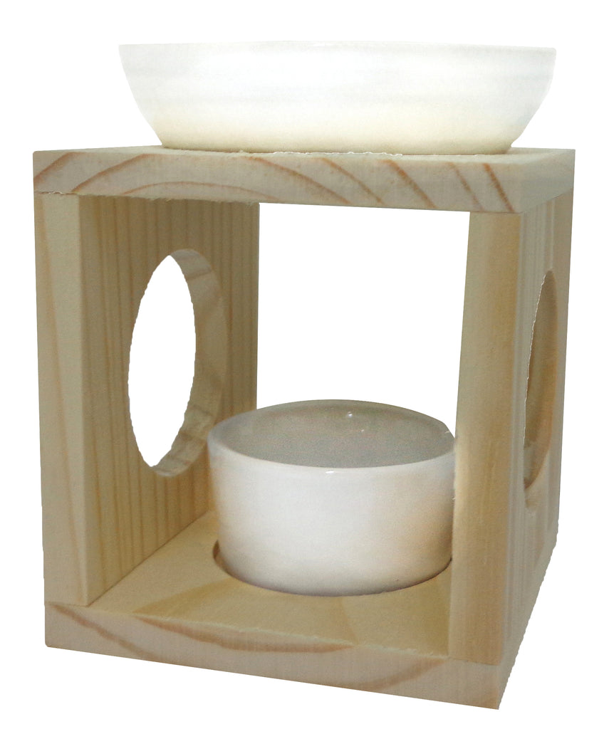 Wooden Ceramic Melt Burner