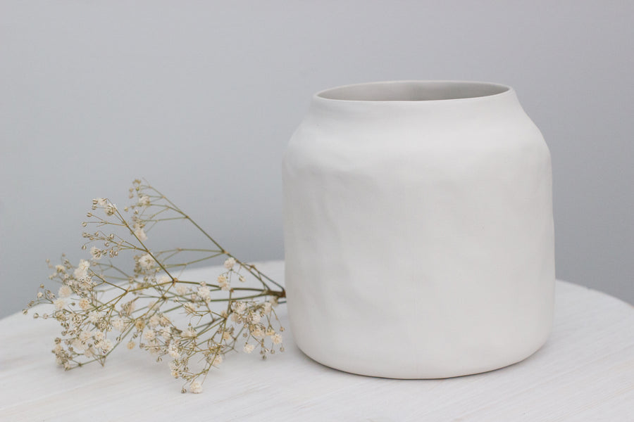 Flax Kitchen Pot 12 cm – Snow White