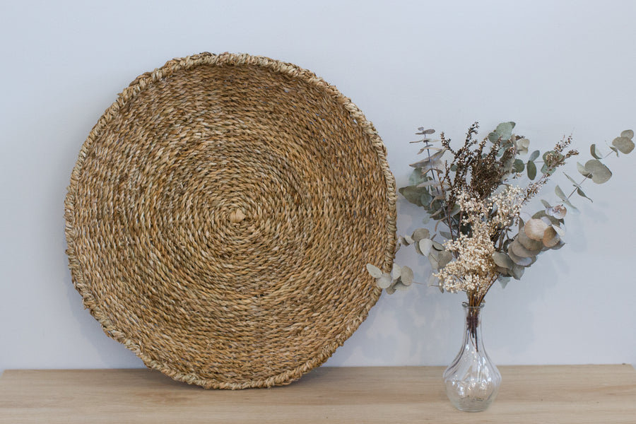 Gilli Platter/Wall Décor - (55cm) Natural