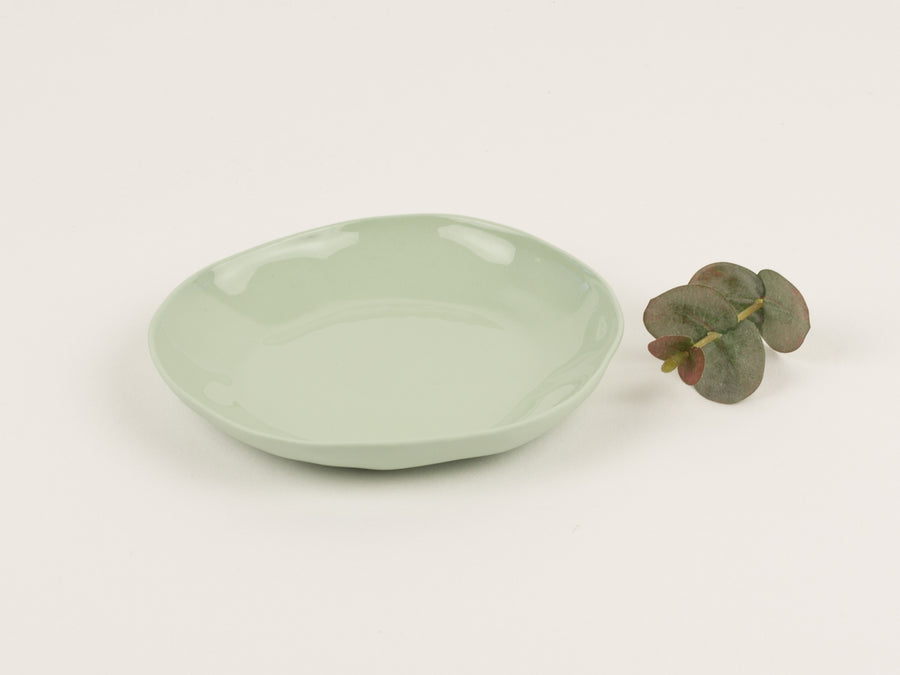Flax Side Plate 16cm - Mint