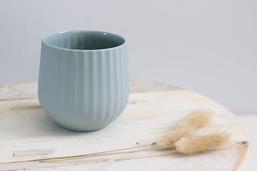 Flax Amity Ceramic Cup - Duck Egg
