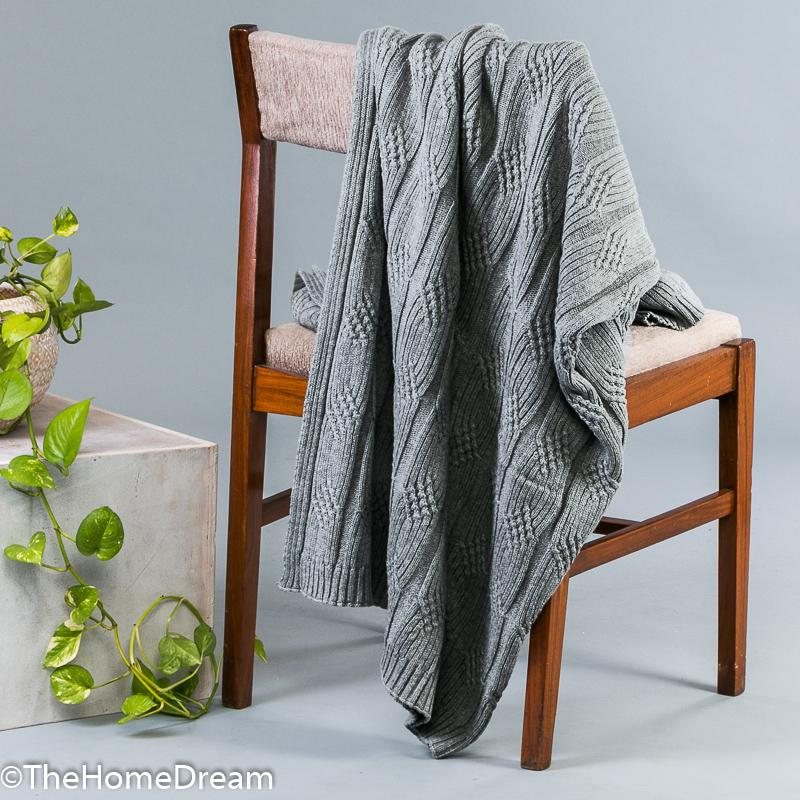 Braxton Broad Cable Throw