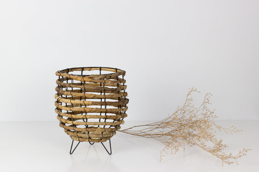 Wire Basket Planter - Small