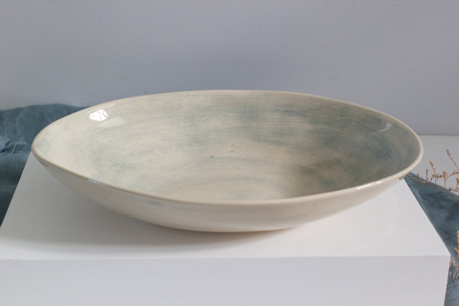 Etosha Dish - Duck Egg Wash - Large