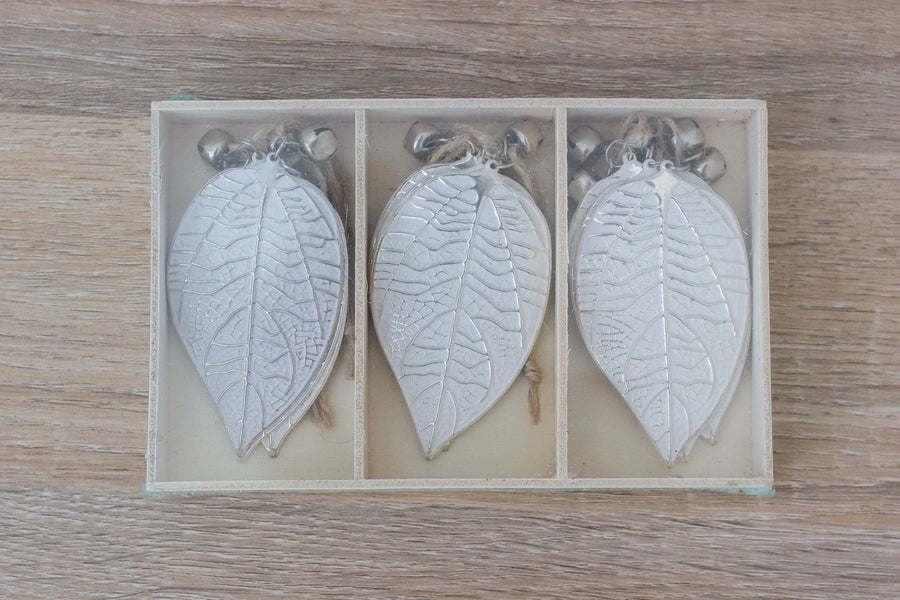 Silver Vein Leaf - Box of 9